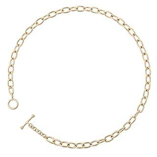Orphelia Damen-Kette T-lock Vergoldetes Metall PK-010