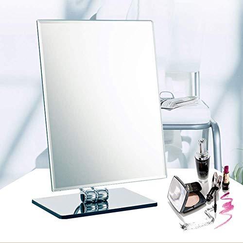 ZNDDB Einseitige Make-up-Rechteckige Rasur HD-Arbeitsplatte kosmetikspiegel Frauen