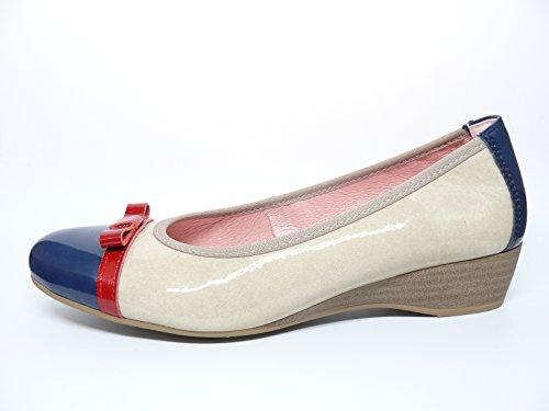 Pitillos Femme Beige Chaussures