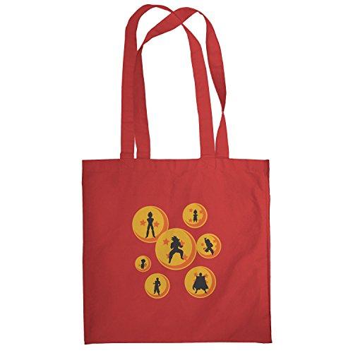 Texlab–The Balls–sacchetto di stoffa Rot