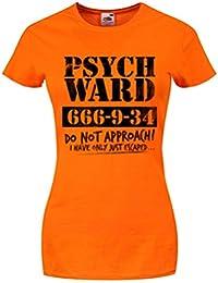 Psych Ward Ladies T-Shirt Orange