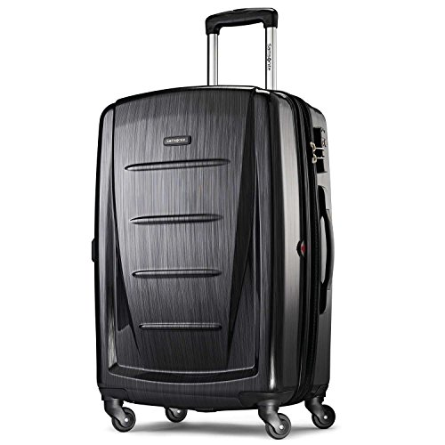 Brushed Anthracite: Samsonite Luggage Winfield 2 Fashion HS Spinner 24