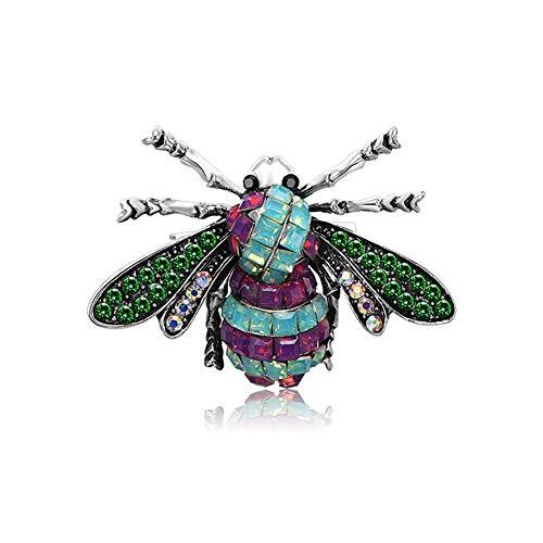 Meigold 1 * Brosche Insekt Brosche Ameise Biene Käfer Brosche männliche und Weibliche Brosche Kleidung Zubehör -