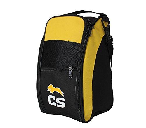 Ceela Sports Ceela_205 Sports Training Shoe Bag (Black/Yellow)