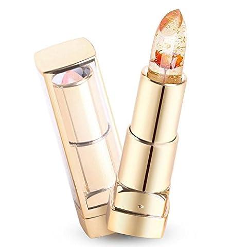 Waterproof Jelly Lipstick, NNIUK Lipsticks Flower Beauty Makeup Lasting Finish Lip Gloss,Chamomile