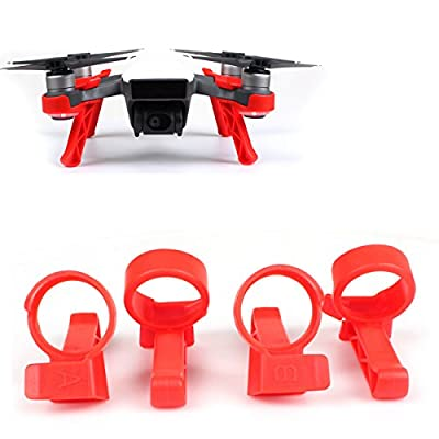 Flycoo Landing Gear for DJI Spark Drone - 3CM Heightened leg Extender Anti-scratch Shock-proof Landing kits accessories