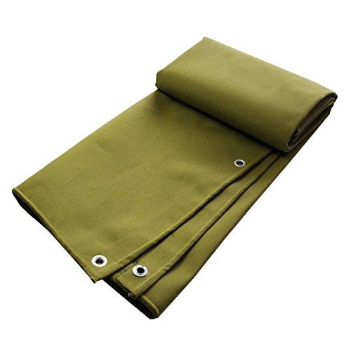 YUHUS Home Wasserdichte Plane Bodenabdeckungen für Camping, Angeln, Garten & Haustiere (Color : Dark Yellow, Size : 5x8M)