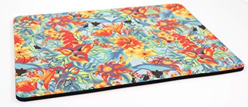 PICSonPAPER Mousepad mit eigenem Foto Bedrucken, Individuell bedrucktes Mousepad mit Ihrem Bild, 27 cm x 19 cm, 5mm Stärke -