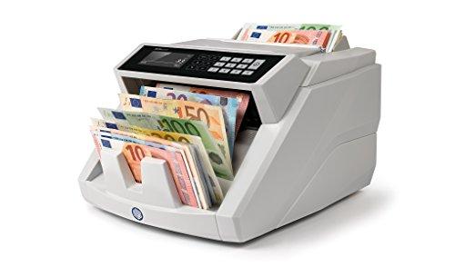 Safescan 2465-S - Banknotenzähler mit Wertermittlung und fälschungserkennung für gemischte euro-banknoten