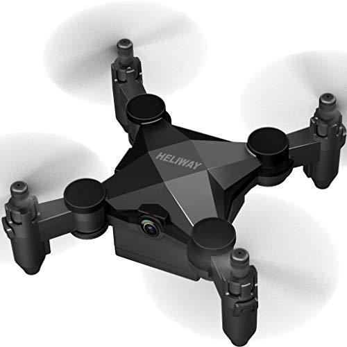 Flamedre_Drohnen HELIWAY 901HS Mini RC Hubschrauber Drohne für Kinder oder Anfänger Quadcopter