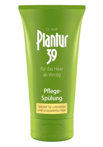 Plantur 39 150ml Conditioner for Coloured and Stressed Hair by Dr Wolff (English Manual)