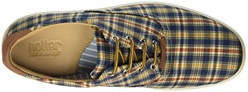 Hotter HotterRockingham - Scarpe Basse Stringate uomo Multicolour (Check)