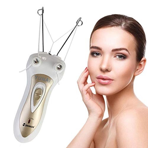 YUNAI Épilateur électrique du visage avec fil