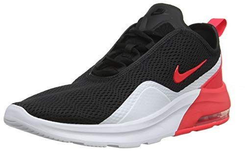 new product 43409 498ed Nike Men s Air Max Motion 2 Running Shoes, Multicolour (Black Red Orbit