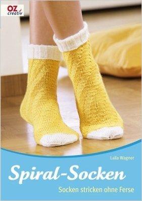 Spiral-Socken: Socken stricken ohne Ferse ( MŠrz 2009 ) (Spiral-ferse)