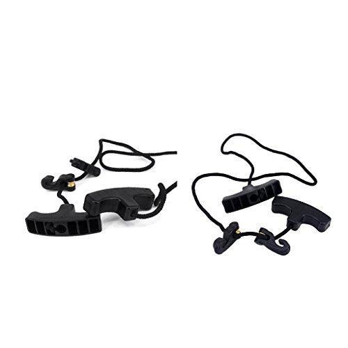 Homyl 2pcs Spannhilfe für Armbrüste, Armbrust Seil mit Spannvorrichtung