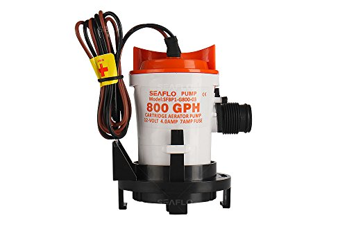 SEAFLO 800 GPH 12 Volt elektrische Tauchwasserpumpe, mit Teich-Wassersystem - Pumpe, Klein ölwanne Tauchpumpen,