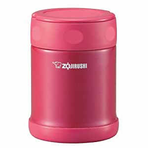ZOJIRUSHI stainless food jar candy pink [350ml] SW-EB35-PJ (japan import)