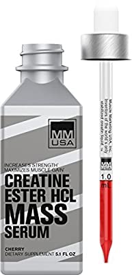 MMUSA Creatine Ester HCL Mass Serum from MMUSA
