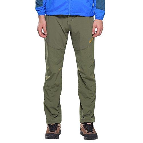 a9f8d32f599d19 Outdoorhose Herren Sommer Wanderhose Stretch Trekkinghose Atmungsaktiv Quick  Dry Hose Männer Funktionshose