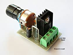 LED Dimmer PWM DC Lighting Dimmer Controller for LED Incandescent Auto RV Marine Aircraft Interior Lighting