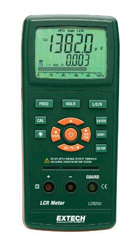 Extech Digitales LCR-Messgerät, 1 Stück, LCR200 Digital-multimeter Plug-in