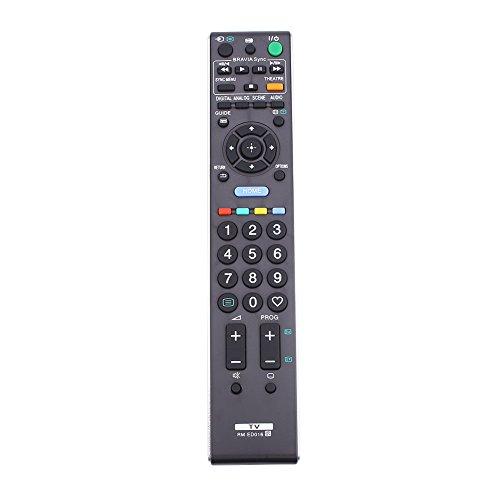 Hanbaili Reemplazo de control remoto RC RM-ED016 Funcionamiento de la batería Para televisores Sony Televisión