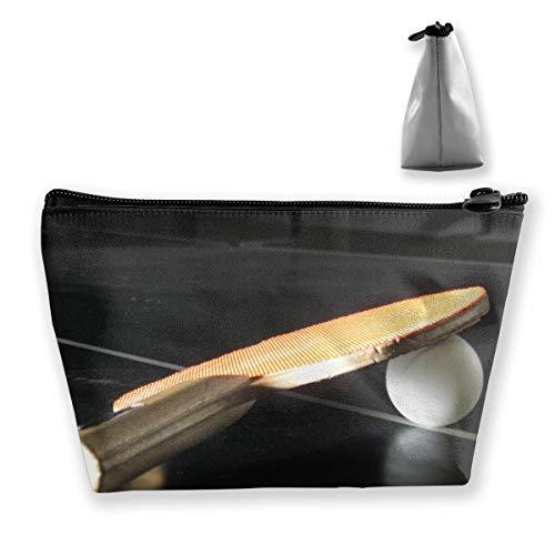 Trapez Kulturbeutel Tragbare Reisetasche Sport Tischtennisschläger Tasche
