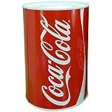 High Quality Coca Cola Kids Money Box Tin Saving Piggy Bank Pot