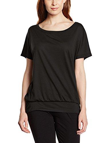 Intimuse Femme T-Shirt de Sport Noir - Noir