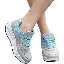 JiaMeng Zapatos de Malla de Moda para Aumentar la Altura de los Zapatos mecánicos de Fondo