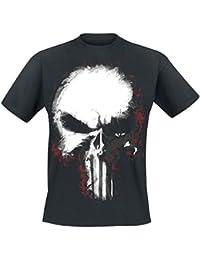 The Punisher Brooklyn MC Camiseta Negro AKfOI
