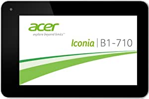 "Acer Iconia B1-710 Tablette tactile 7"" (17,78 cm) MEDIATEK 5x86 1,2 GHz 8 Go 1024 MB Android Jelly Bean 4.2.1 Wifi Blanc"