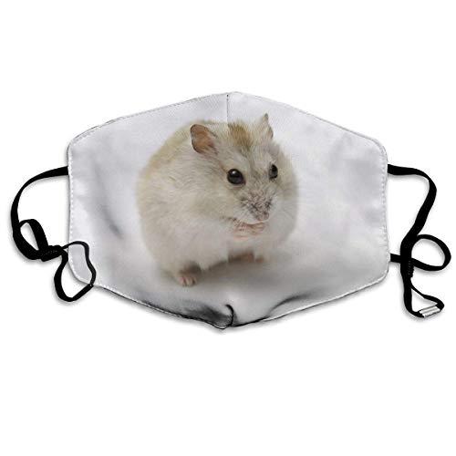 Nicegift Cute Little Hamster Face Masks Breathable Dust Filter Masks Mouth Cover Masks Elastic Ear Loop