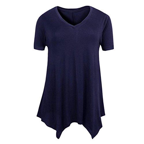 ESAILQ Damen Kleidung Shop Modische schöne Outdoor günstig Moderne Lederimitat Jeansweste Outdoorweste Winterweste fransenweste funktionsweste(XXXXL,Marine)