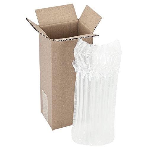 Propac z-now Verpackung MONOBOTTIGLIA mit Schutz Luftmatratze, Stück 50