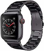 Light Source Apple Watch Metal Belt Evershop 42/44mm / 38/40mm Stainless Apple Watch Belt Business Style Watch