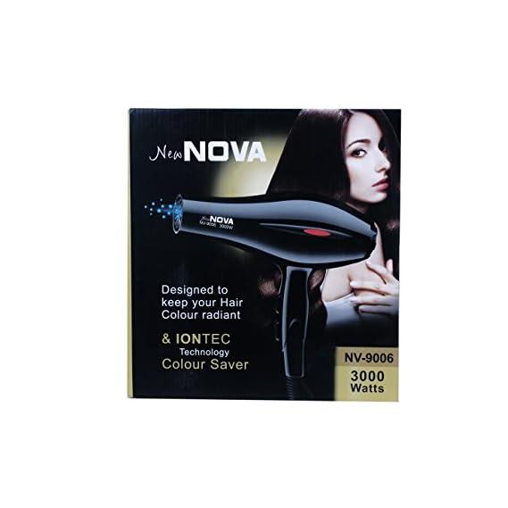 CETC New Nova - 9006 Professional Hair Dryer 3000 watt (Black)