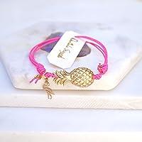 Ananas und Flamingo Armband