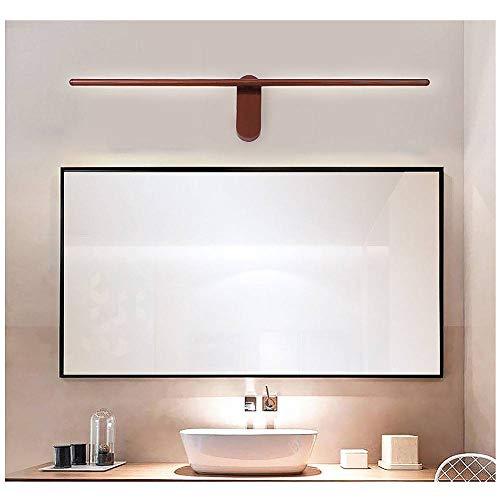 XXQ Anti-Fog-LED-Spiegel Scheinwerfer, Moderne minimalistische Bad WC wasserdicht Spiegel Vorderwand Lampe drehbar Spiegelschrank Beleuchtung