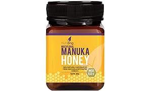 Award Winning Manuka Honey 60+ - 100% Pure Honey - Made in New Zealand - 500g by NutriZing