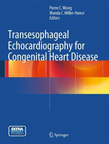 Transesophageal Echocardiography for Congenital Heart Disease