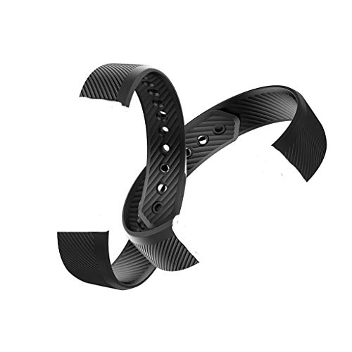 Iloft® Replacement Add-on Strap for Boltt Beat Fitness Activity Tracker (Black)