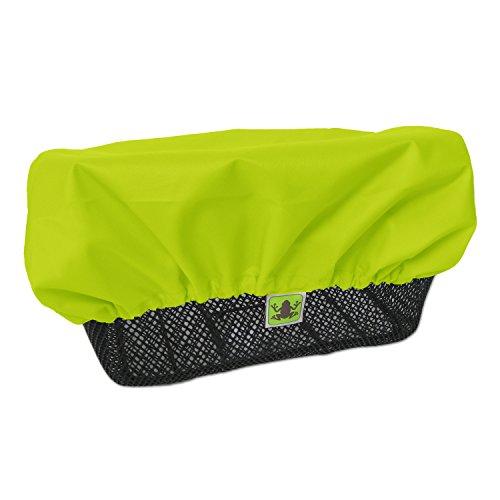 MadeForRain Regenschutz/Abdeckung für Fahrradkörbe CityTurtle - Neongelb