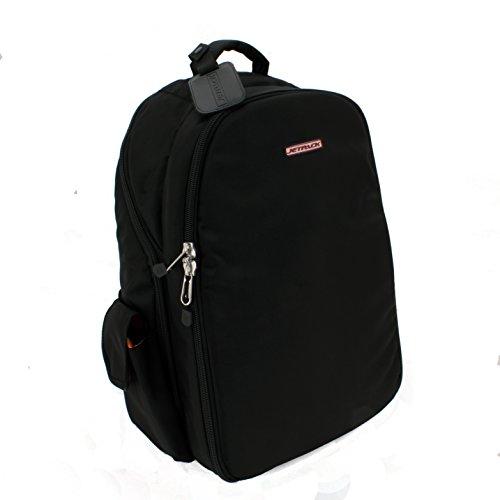 Orbit Concepts Jetpack-Prime-XL-blk Jetpack Prime DJ Rucksack für Laptop/Mixer, DV-Systeme/Vinyl Records/Kopfhörer/Kabel/Zubehör und mehr -