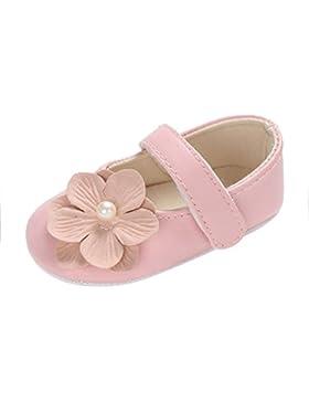 Zapatos Bebe Niña Primeros Pasos, Zolimx 💕 Bebés Niños Niña Flores Suave Única Cuna Niño Recién Nacido Zapatos