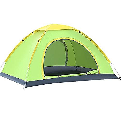 YOOFINE Pop up Zelt UPF 50+ UV Schutz 3-4 Personen für 1-3 Person mit Haus Verschiedene Arten Aktivitäten am Strand