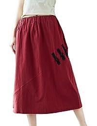 competitive price a9063 ebd61 Amazon.it: Etnico - Gonne / Donna: Abbigliamento