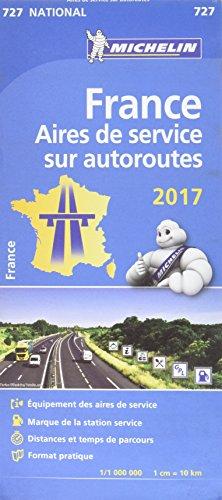 Descargar Libro Carte France Aires de service sur autoroutes 2017 de Michelin