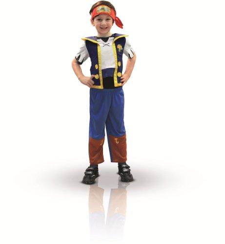The Kostüm Neverland Jake Piraten - Jake und die Nimmerland PiratenTM - Kostüm für Jungen - 1-2 Jahre